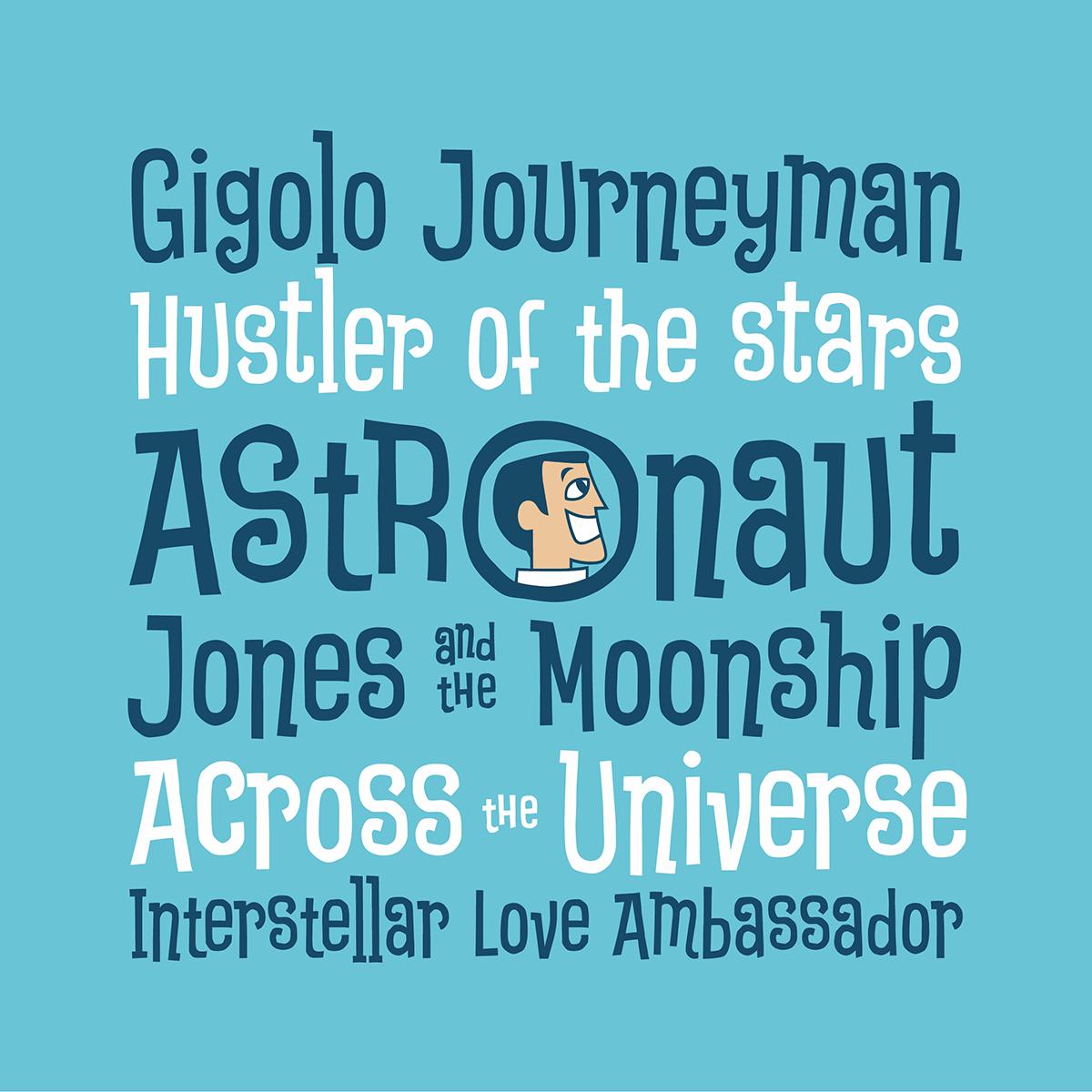 Astronaut Jones font preview