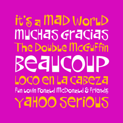 Beaucoup font by Pink Broccoli