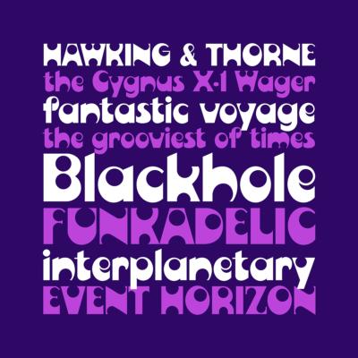 Blackhole font by Pink Broccoli