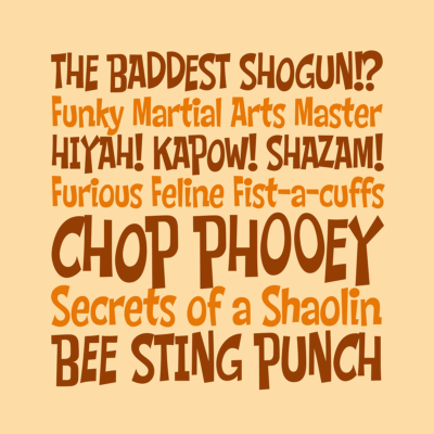 Chop Phooey font by Pink Broccoli