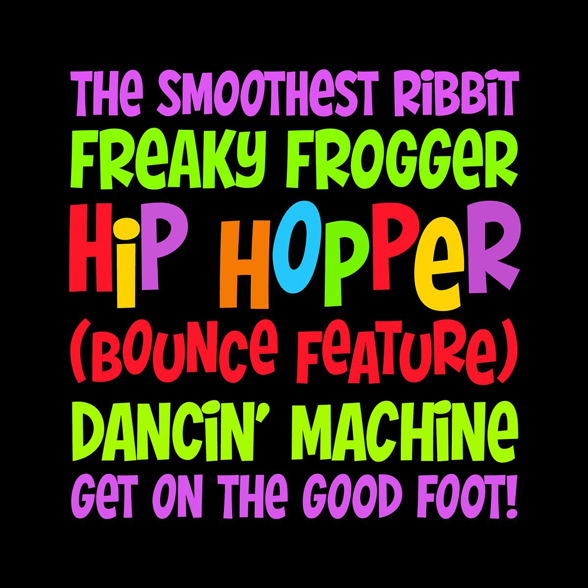 Hip Hopper font by Pink Broccoli
