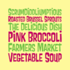 Pink Broccoli font by Pink Broccoli