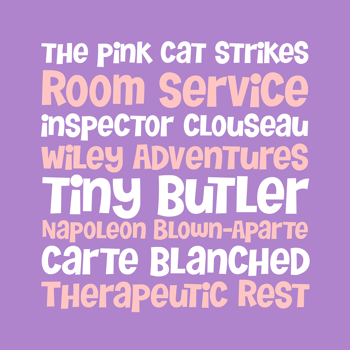 Tiny Butler font by Pink Broccoli