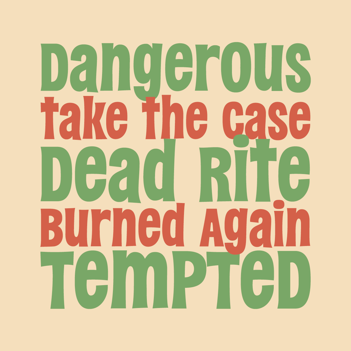 DeadRite font by Pink Broccoli