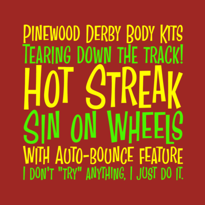Hot Streak font by Pink Broccoli