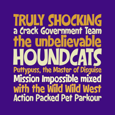 Houndcats font by Pink Broccoli