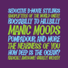 Manic Mood font by Pink Broccoli