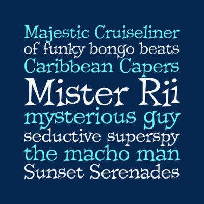 Mister Rii font by Pink Broccoli