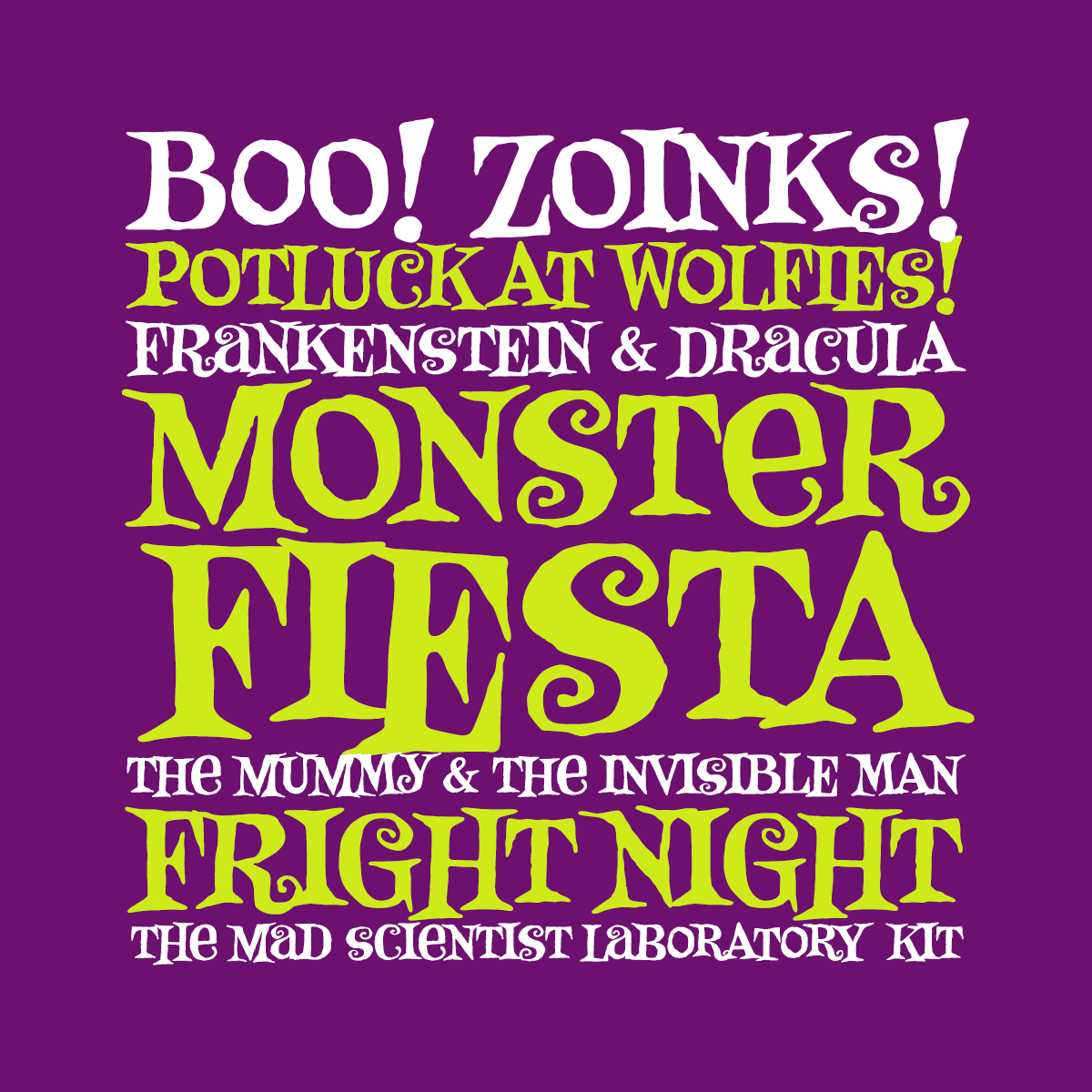 Monster Fiesta font by Pink Broccoli