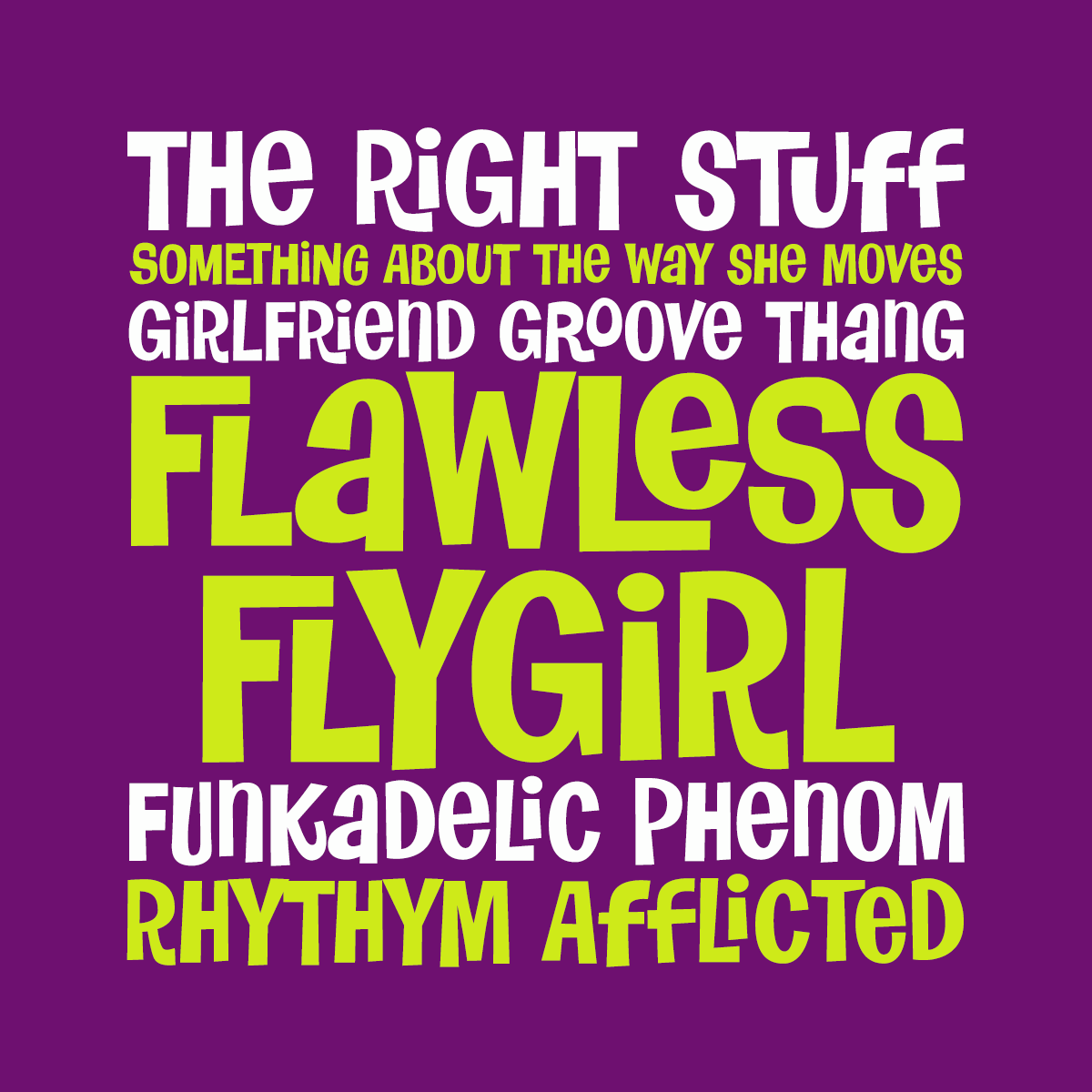 Flawless Flygirl by Pink Broccoli