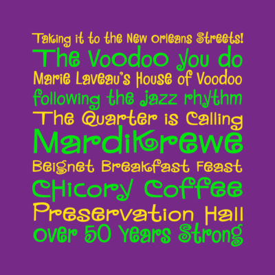 MardiKrewe Family fonts by Pink Broccoli